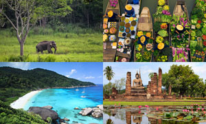 10 مکان دیدنی تایلند مناسب برای سفر در تابستان