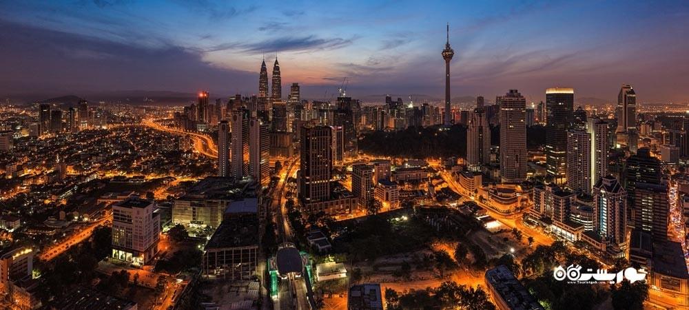 شهر کوالالامپور در کشور مالزی - توریستگاه