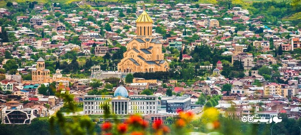 شهر تفلیس در کشور گرجستان - توریستگاه