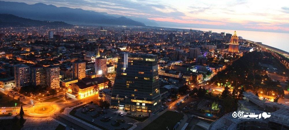 شهر باتومی در کشور گرجستان - توریستگاه