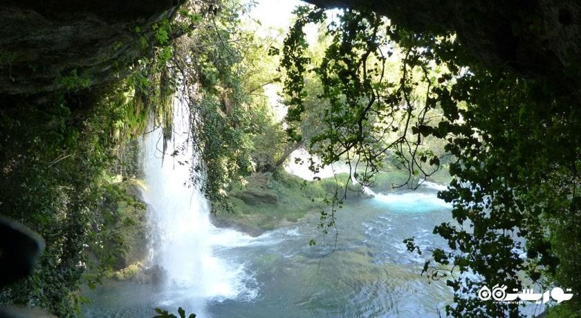 آبشارهای دودن شهر ترکیه کشور آنتالیا