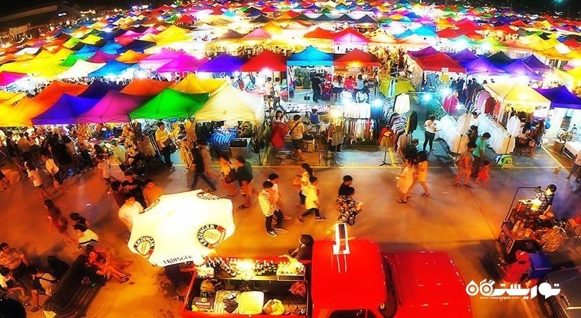 مرکز خرید بازار پوکت ویکند مارکت شهر تایلند کشور پوکت