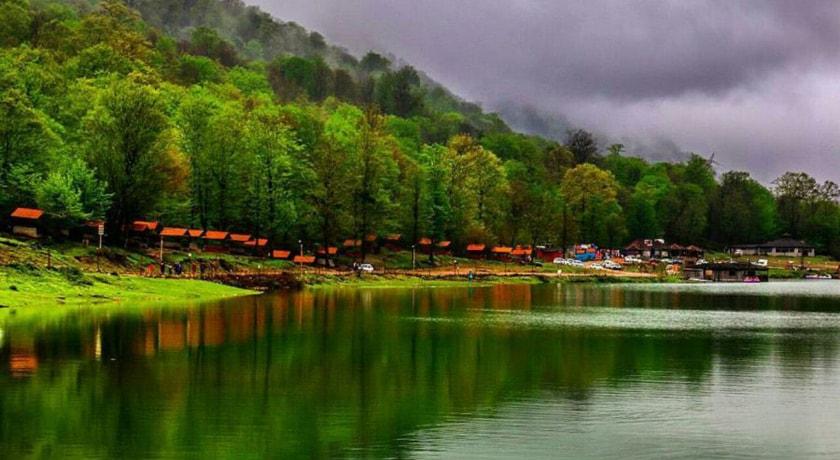 دریاچه آویدر شهرستان مازندران استان نوشهر