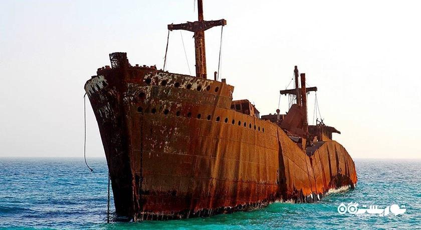 کشتی یونانی شهرستان هرمزگان استان کیش