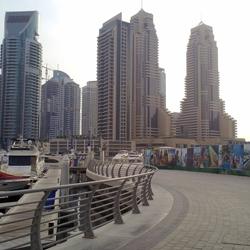 پیاده روی دبی مارینا