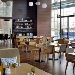 رستوران و تراس دیش روم