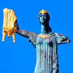تندیس مدئا (مجسمه یادبود مده آ )