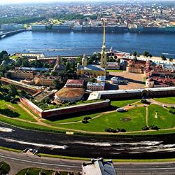 قلعه پیتر و پل و موزه تاریخی سن پترزبورگ