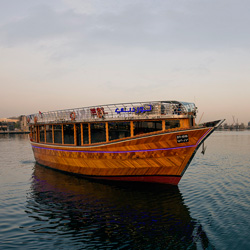 قایق و کشتی سواری در خور دبی