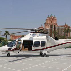 پرواز با هلیکوپتر در دبی