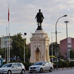 مجسمه آتاتورک