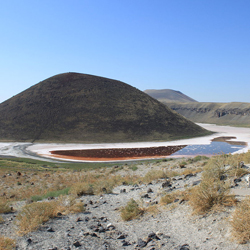 دریاچه دهانه آتشفشان مکه