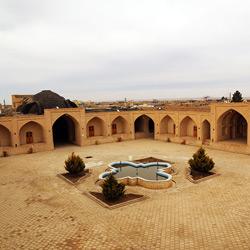 کاروانسرای ابوزید آباد (آبروز شاه عباسی)