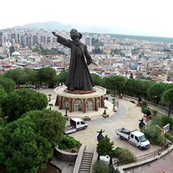 پارک مجسمه مولانا - بوجا