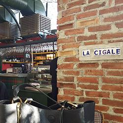 رستوران لا جیگاله آلسانجاک
