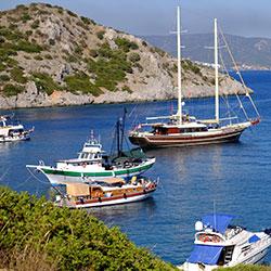 سفرهای روزانه با قایق در بدروم
