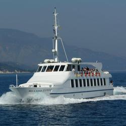 سفر به جزیره ساموس با کشتی