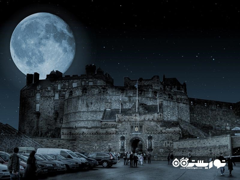 8 – قلعه ادینبورو (Edinburgh Castle)
