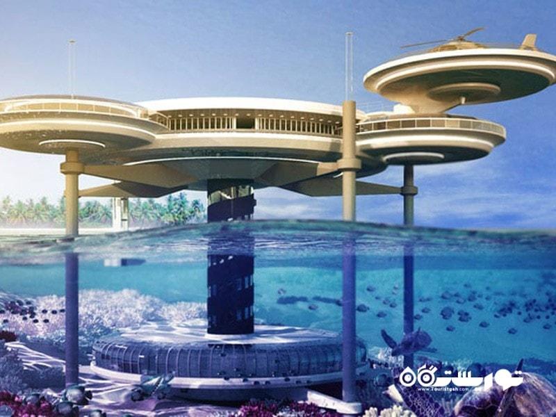 11- واتر دیسکاس (Water Discus)، دبی
