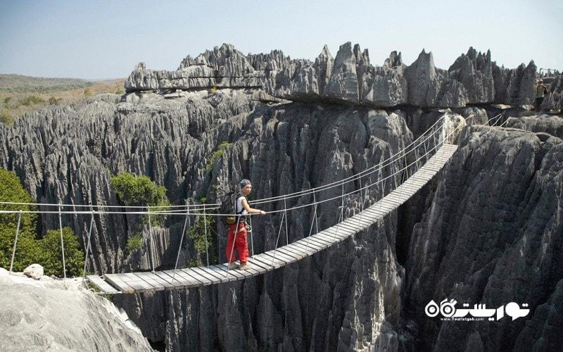 16. بر فراز جنگل صخره ای کوهپیمایی کنید، ماداگاسکار