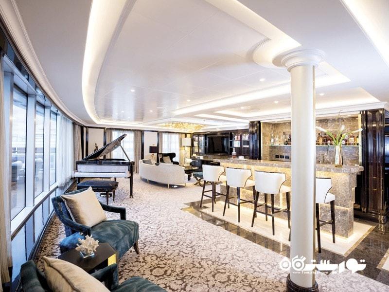 19- سوییت بینظیر رجنت سون سیز (The Regent Seven Seas ultimate suite)