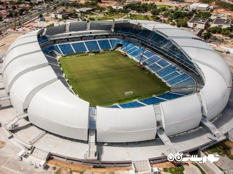 14- ورزشگاه آرنا داس دوناس، ناتال