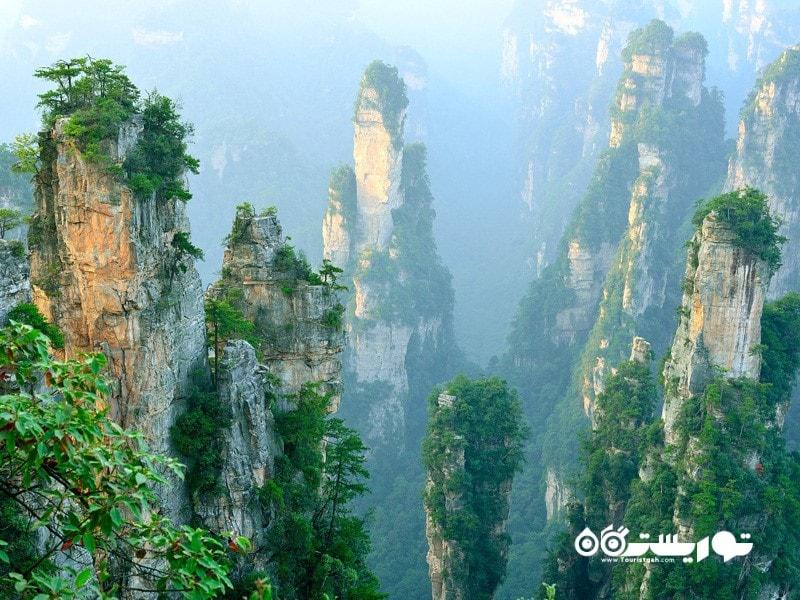 منطقه خوش منظره وُلینگیوان، ژانگجیاجی، چین