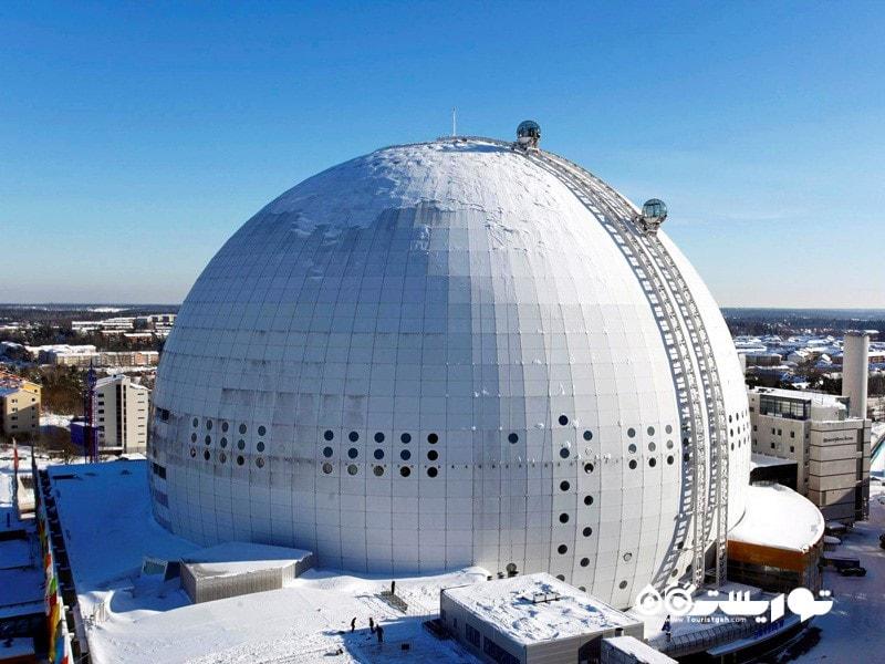 11- اريكسون گلوب (Ericsson Globe)، استکهلم