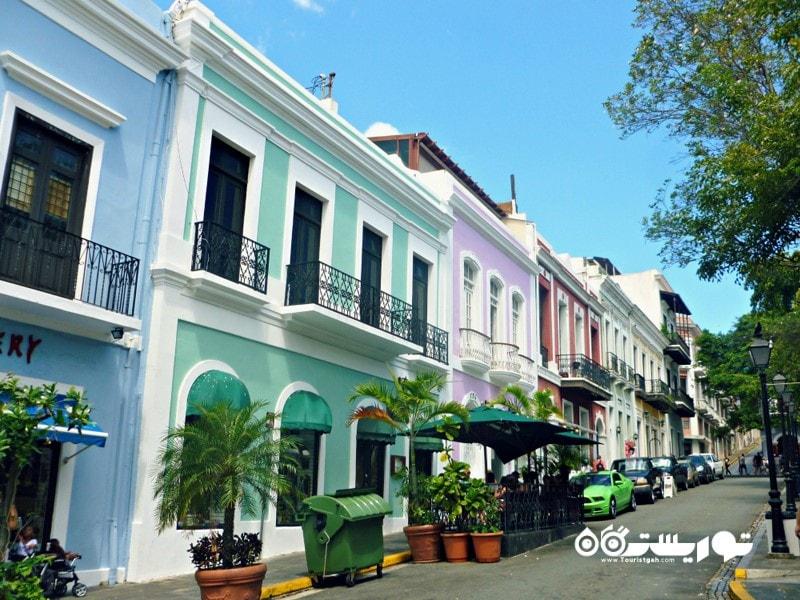 1. سن خوآن قدیمی جاذبه گردشگری پورتوریکو