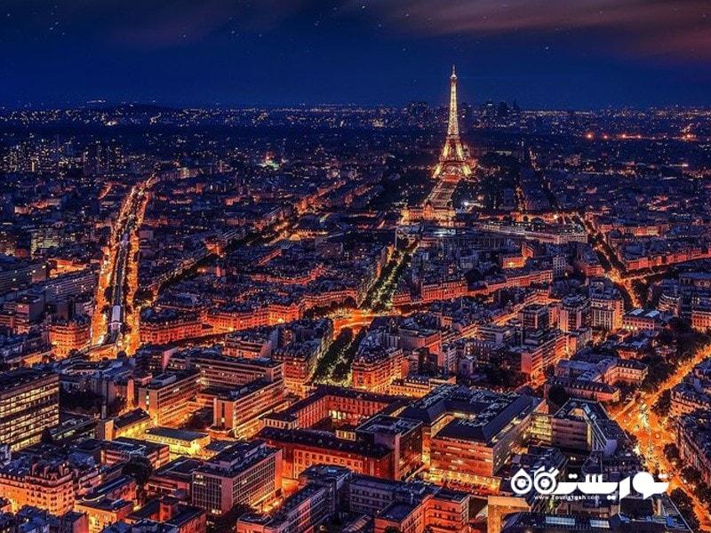 8- شب هنگام در پاریس