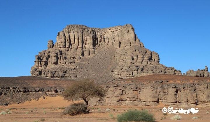 صحرای الجزایر بزرگترین گستره بیابانی