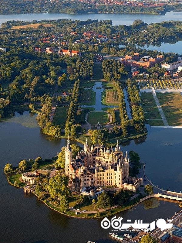 16.قصر شورین (Schwerin Palace)، ایالت شورین (Schwerin)، آلمان