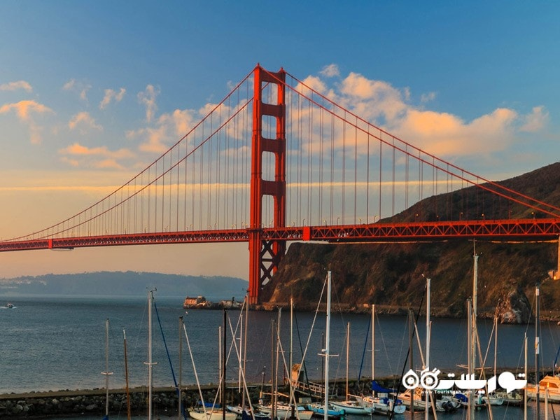 پل گلدن گیت (Golden Gate Bridge)