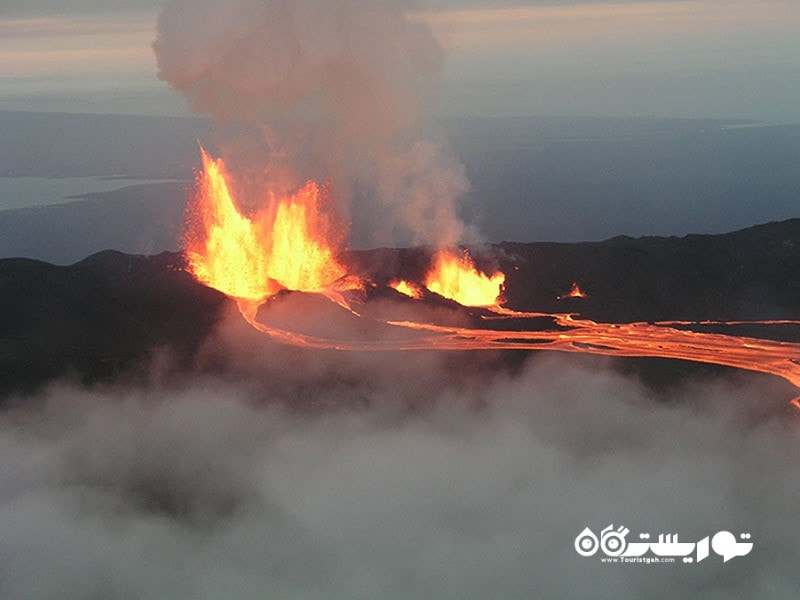 فعالیت های آتشفشانی