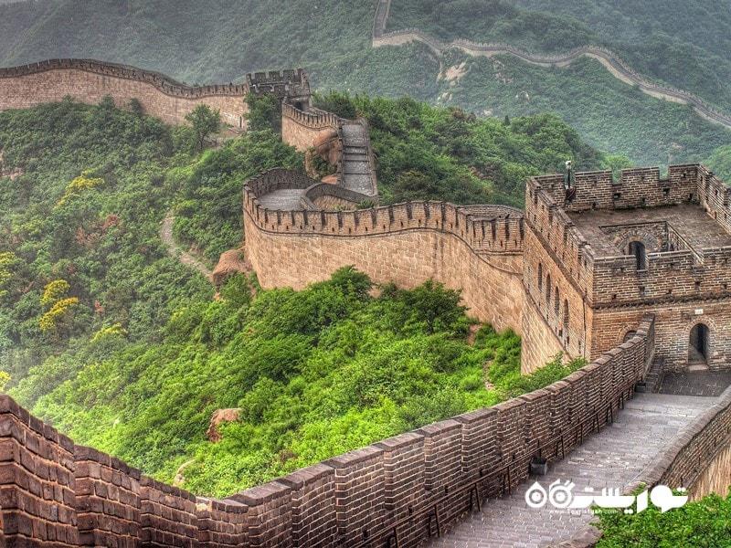 3- دیوار بزرگ چین