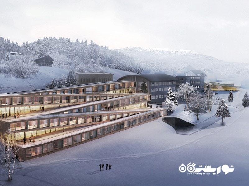 16- هتل دس هورلوگرز (Hotel des Horlogers)، سوئیس