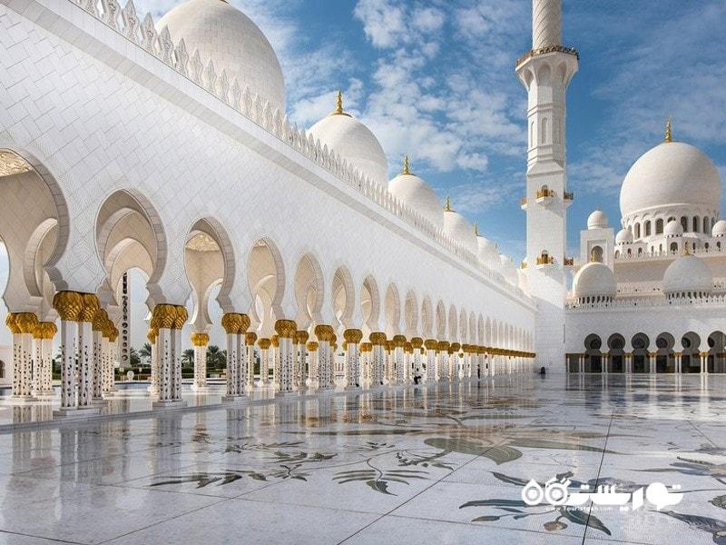 26- مسجد بزرگ شیخ زاید