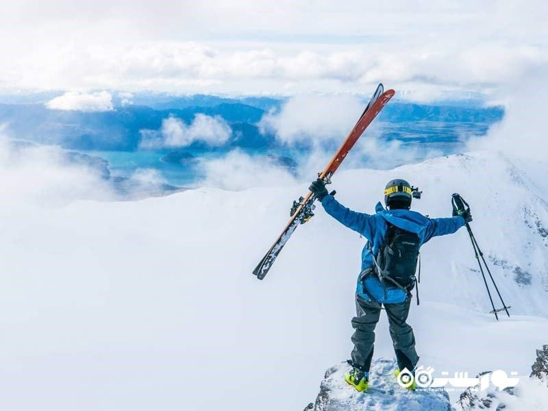 پیست های اسکی متعدد نیوزیلند