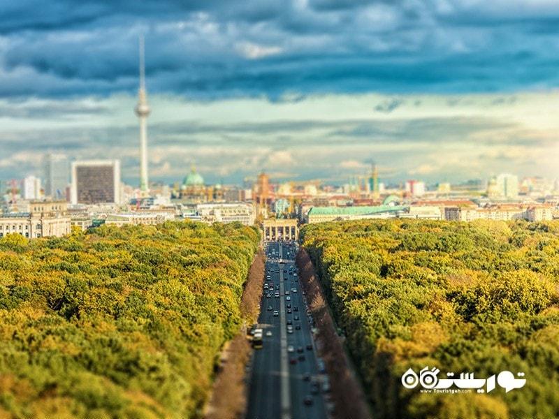 دروازه براندنبورگ (Brandenburg Gate)