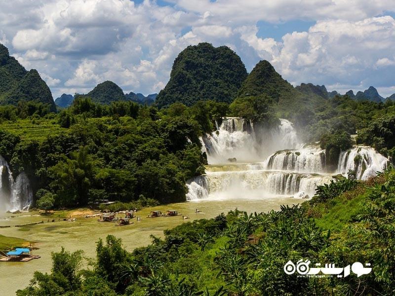 آبشارهای دیتین و بن گیوک ، کشور ویتنام