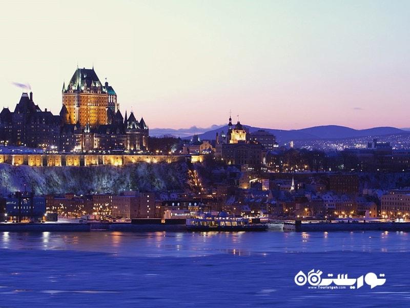 9. کبک (Quebec city) در کانادا