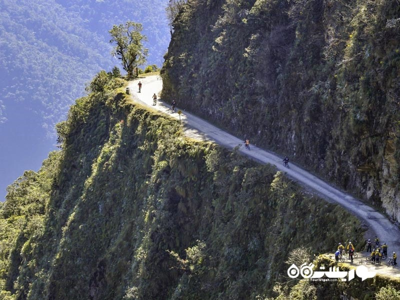 11 – جاده یونگاس شمالی (The North Yungas Road)، کشور بولیوی