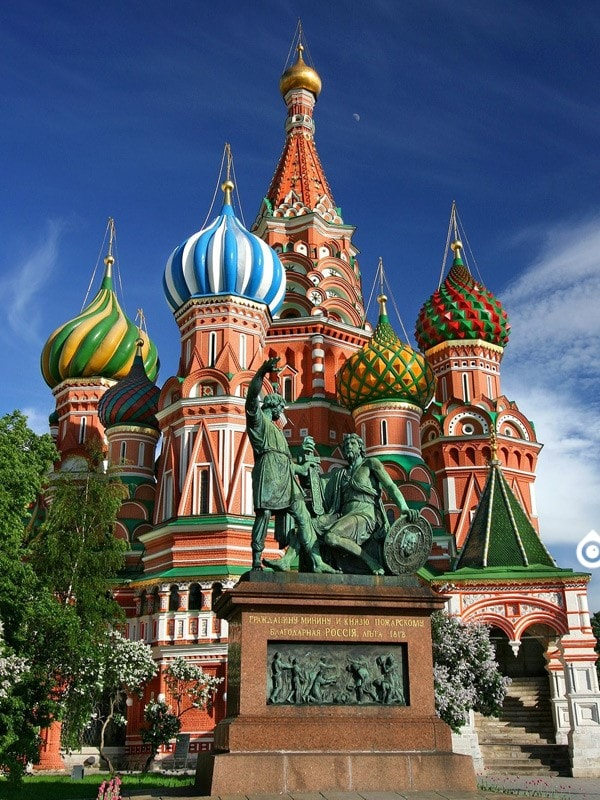 31- کلیسای سنت باسیل (Saint Basil's Cathedral)
