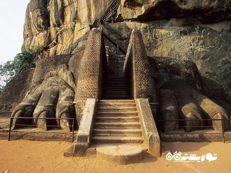 38.منطقه باستانی سیگیرییا (Sigiriya)، سریلانکا