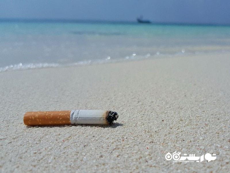 ممنوعیت استعمال دخانیات در سواحل تایلند