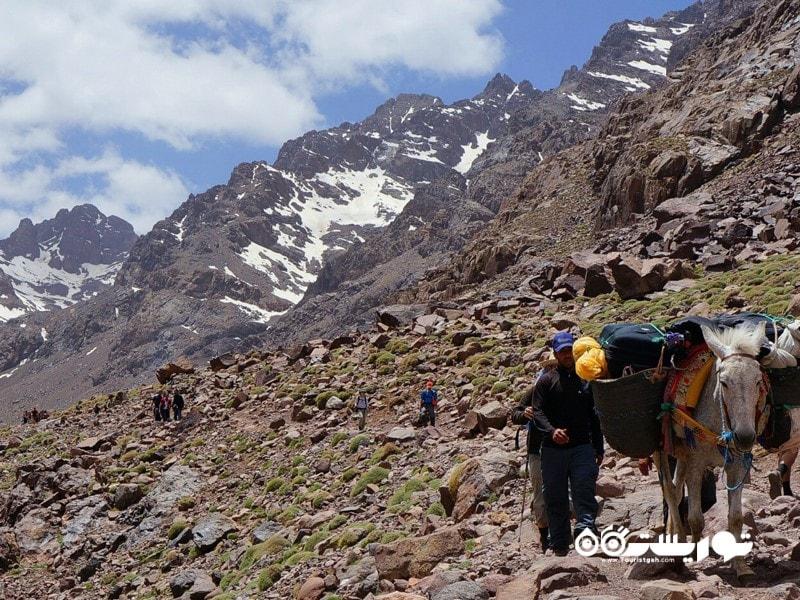 6 - کوه توبکال (Jebel Toubkal)