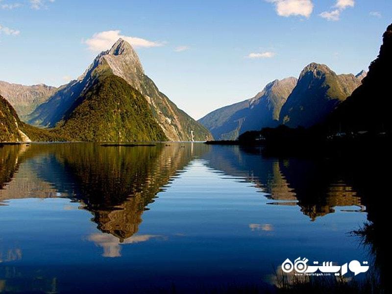 31.تنگه میلفورد (Milford Sound)، نیوزلند