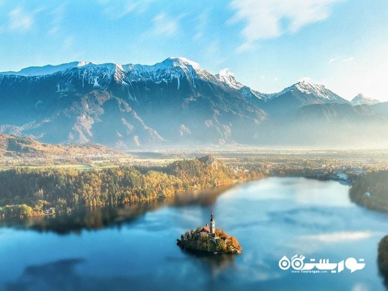 3- قلعه بِلد (Bled Castle)