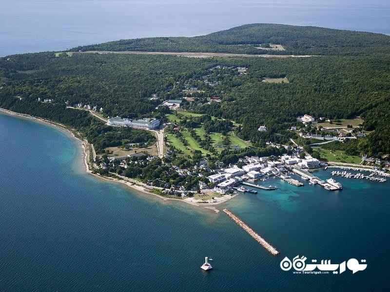 جزیره مَکیناک (Mackinac Island)، ایالت میشیگان (Michigan)