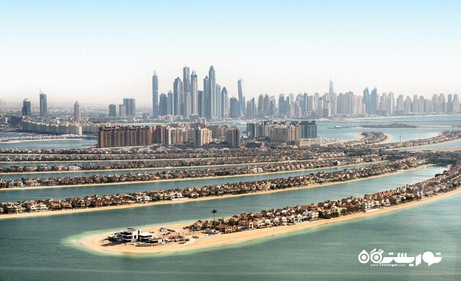 هر آنچه که باید در مورد جزایر مصنوعی شهر دبی بدانید